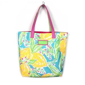 Lilly Pulitzer | Bright Lemon Tote